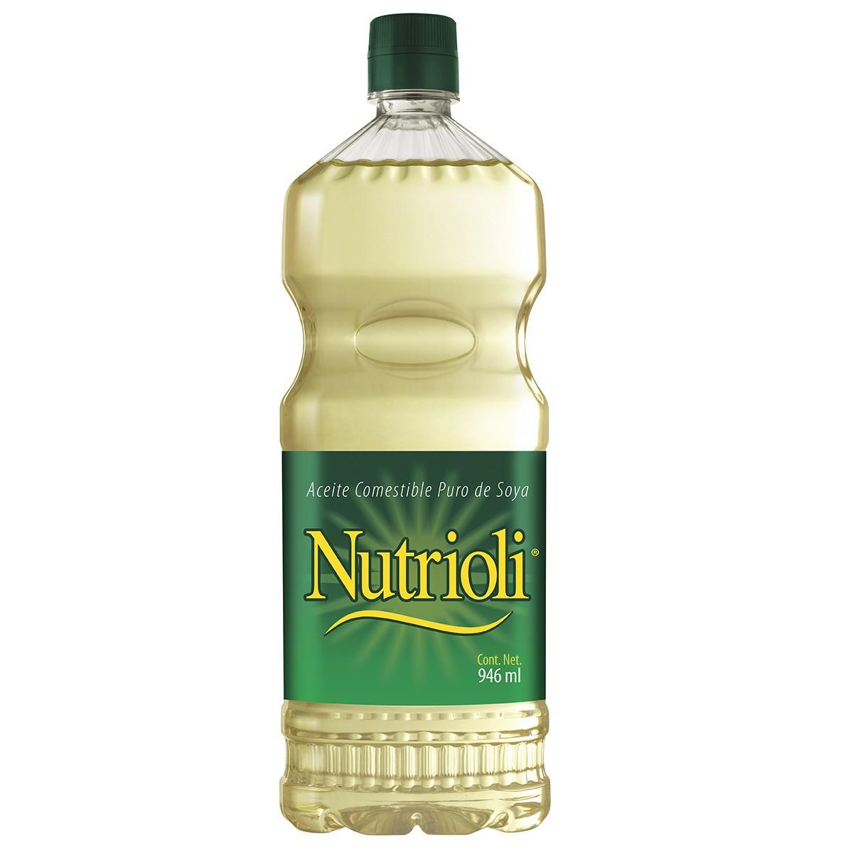 Chedraui: aceite nutrioli de 946ml 2x$53