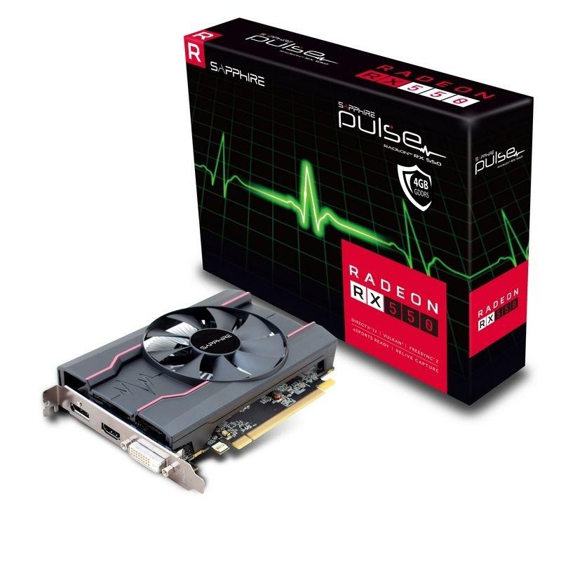 Cyberpuerta: Sapphire AMD Radeon RX 550 4GB