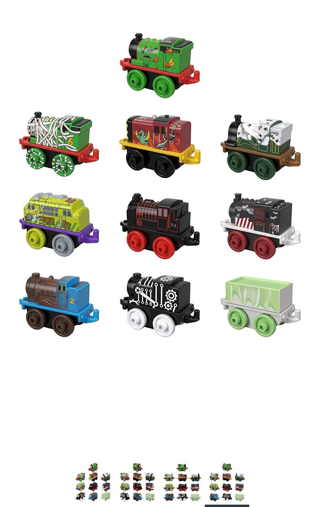 Amazon: Thomas & Friends edición halloween 10 unidades