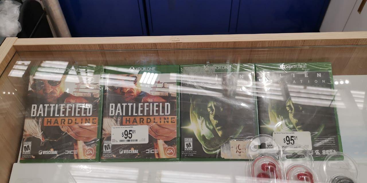 Chedraui: Alien Isolation o Battlefield Hardline (Juegos Xbox One)