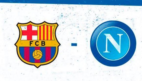 Champions League: Partido en Vivo Gratis Barcelona vs Napoli (también se podrá ver la final!)