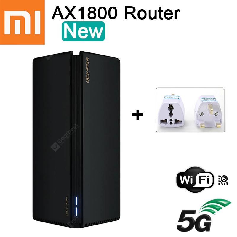 Gearbest: Router Xiaomi 5G 5Ghz y 6Ghz WiFi 6 procesador 5 Nucleos