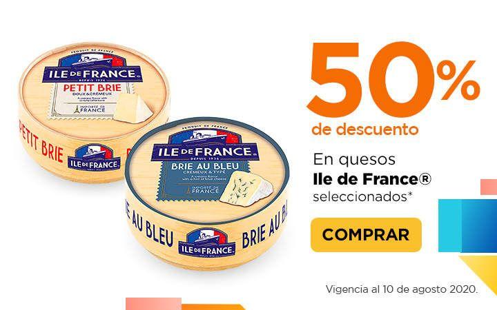 Chedraui: 50% de descuento en quesos Ile de France seleccionados