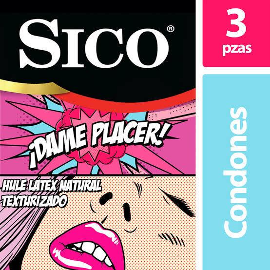 Amazon: Sico Play Dame Placer - Condones Texturizados de Látex 3 Piezas