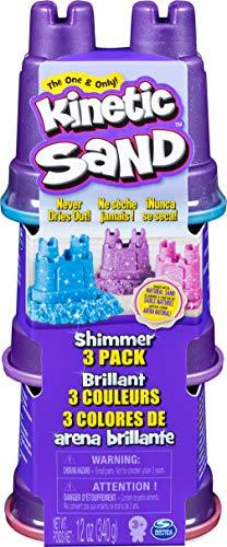 Amazon: Kinetic Sand Multipack Destellos.