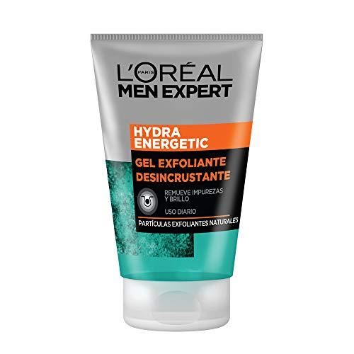 Amazon: L'Oréal Paris Exfoliante Facial Men Expert, Hydra Energetic, 100 ml a 45 pesos aplica Prime