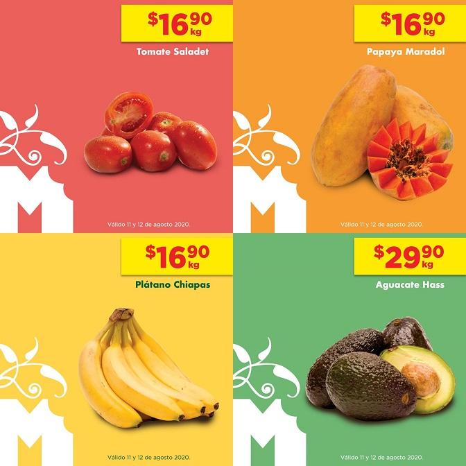 Chedraui: MartiMiércoles de Chedraui 11 y 12 Agosto: Jitomate ó Papaya ó Plátano $16.90 kg... Aguacate $29.90 kg.