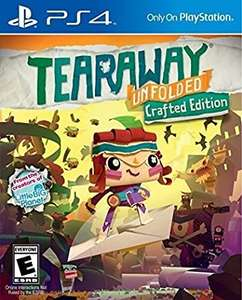 Game Planet: PS4 - TEARAWAY UNFOLDED