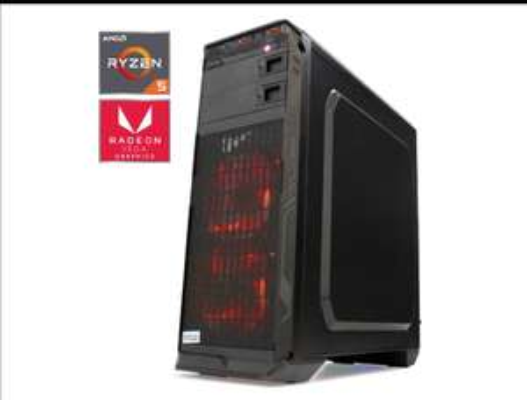 "Liverpool: Pc ""Gamer"" Ryzen 5 3400G, 8Gb Ram, Vega 11+ Kit de regalo, 1TB (banorte digital)"