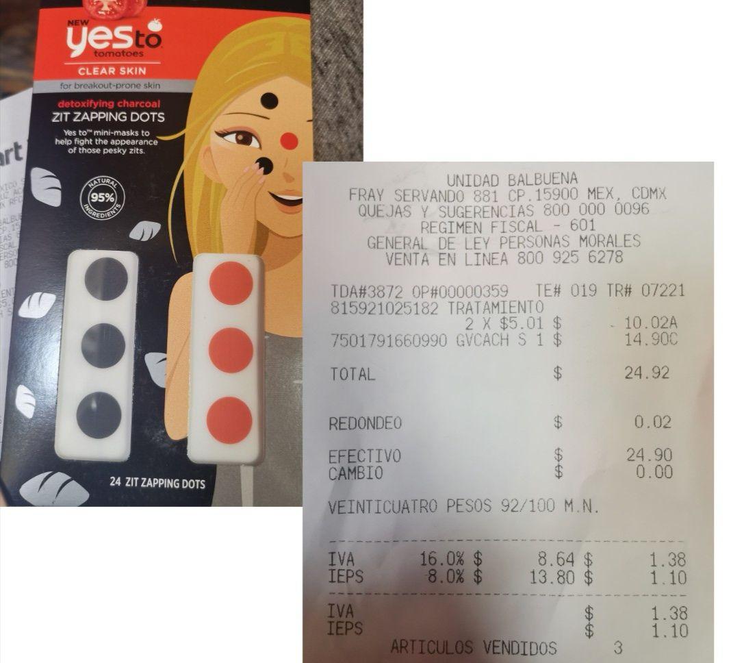 Walmart: Parches para acné