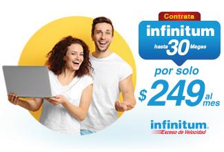 Infinitum Telmex: 30 Mbps por 249 para clientes Telcel