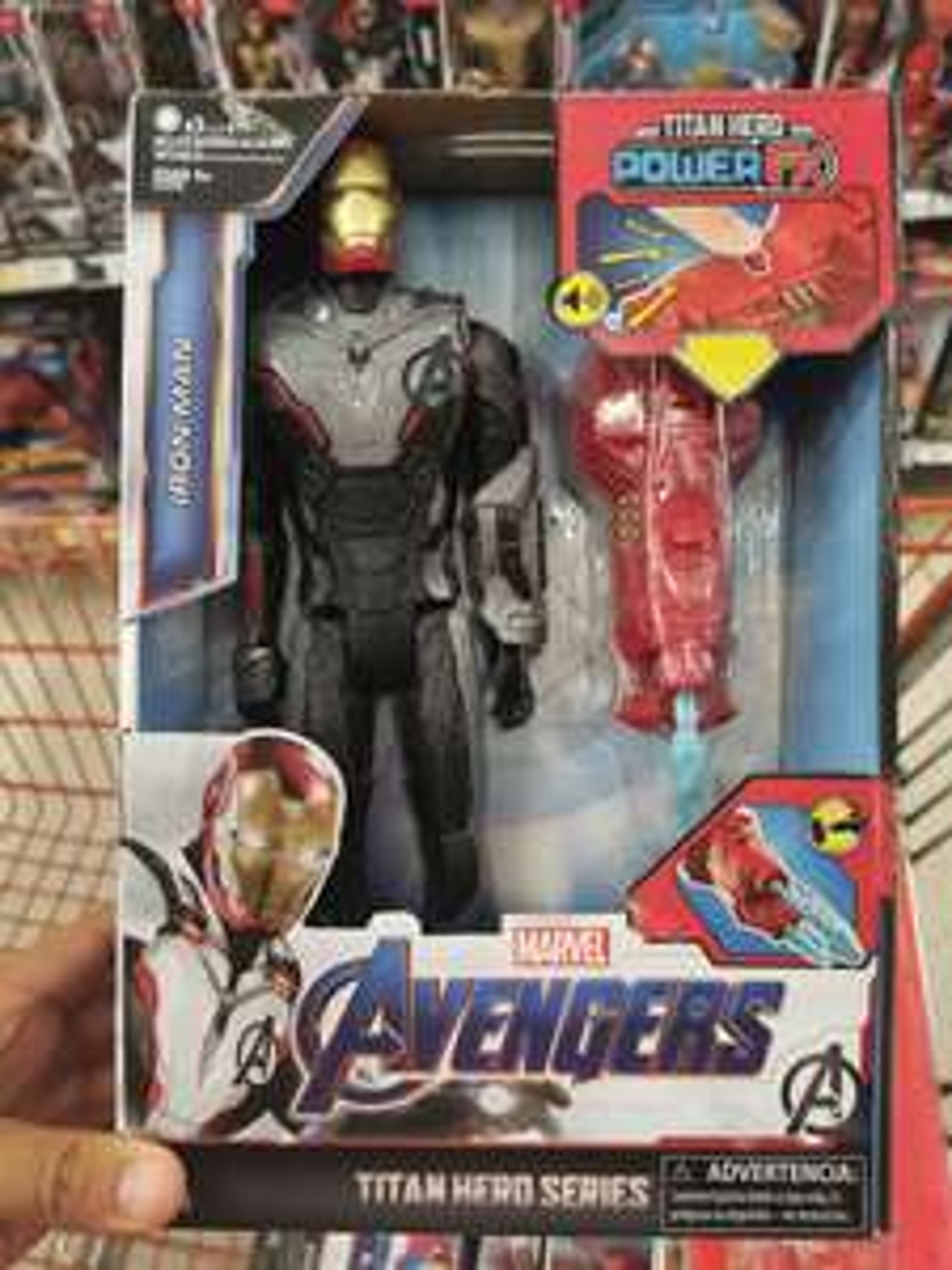 Chedraui Iron man muñeco