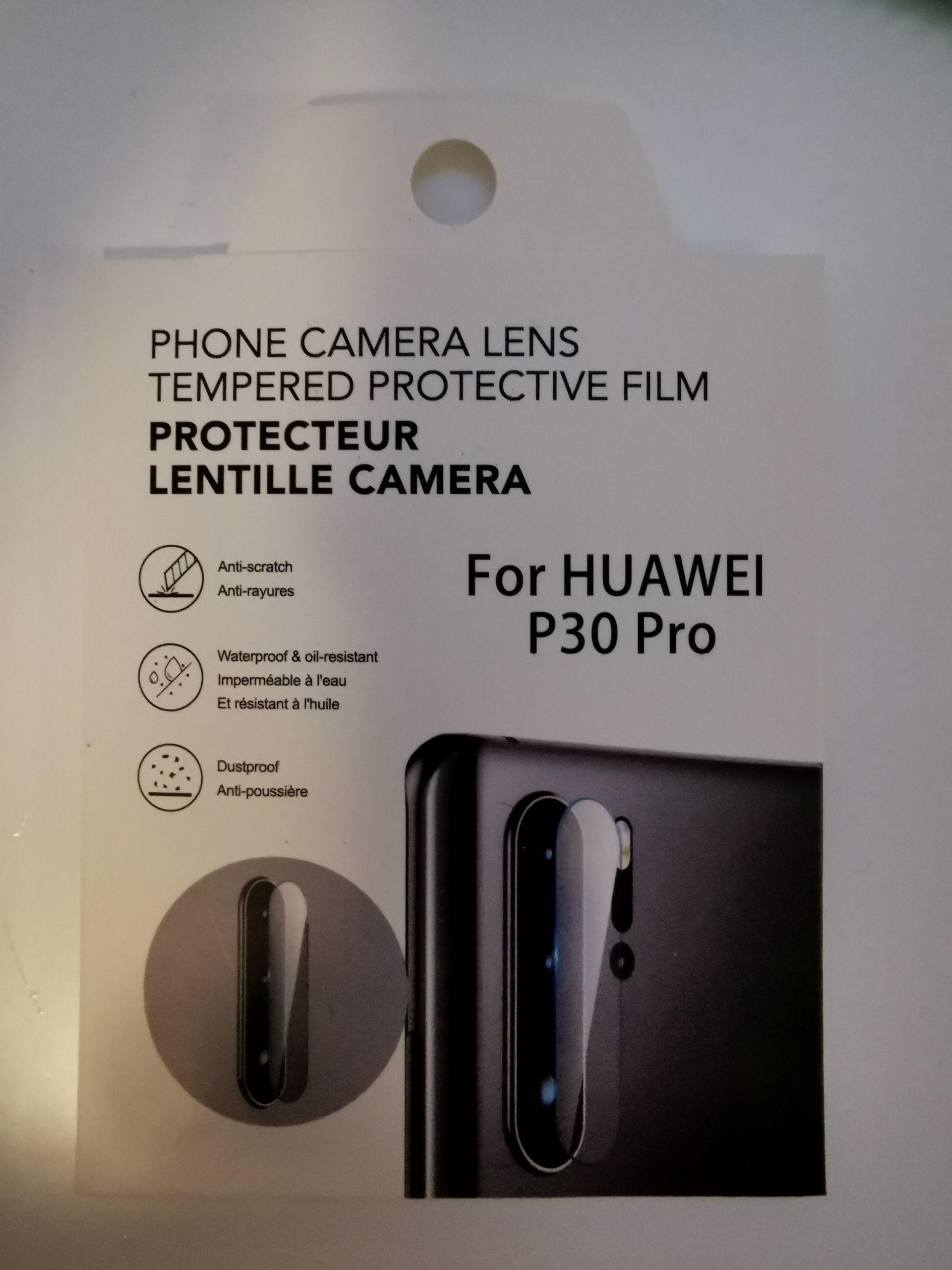 Miniso: Mica cristal cámaras Huawei P30 Pro