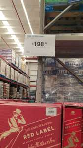 Sam's Club: Wisky JW Red Label