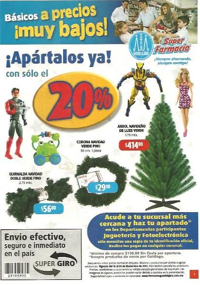 Folleto Farmacias Guadalajara: 35% menos en línea Tempra, Pepto Bismol y más