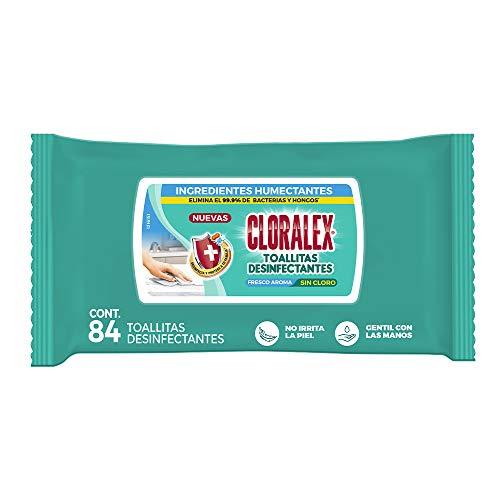 Amazon: Cloralex Toallitas Desinfectantes 84 Piezas