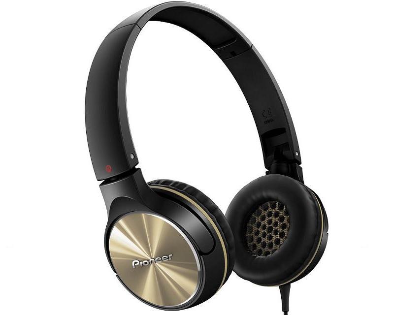 Coppel en línea: Audífonos Pioneer SE-MJ532-N Dorado a $469