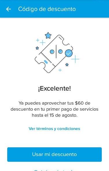 Mercado Pago: Cupón de descuento de $60 en Pago de Servicios. BUG TODOS LOS USUARIOS