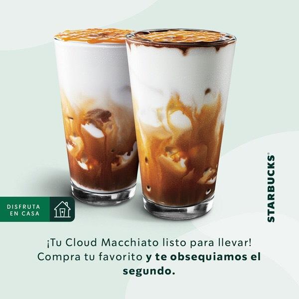 Starbucks: cloud macchiato 2x1