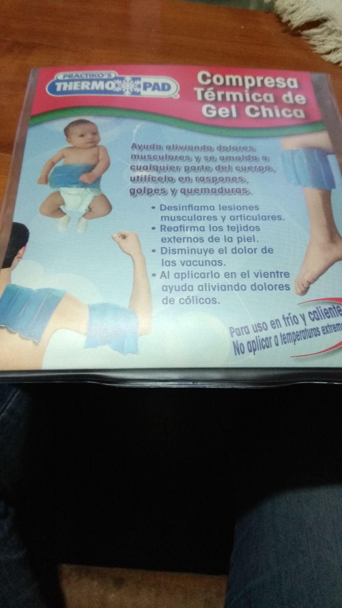 Walmart: Compresa térmica de gel chica