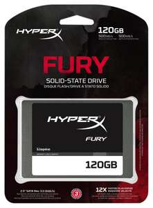 Amazon: SSD Kingston Digital HyperX FURY 120 GB