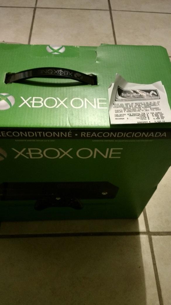 Bodega Aurrerá Miramar: Consola Xbox One Refurbished a $3,399.02