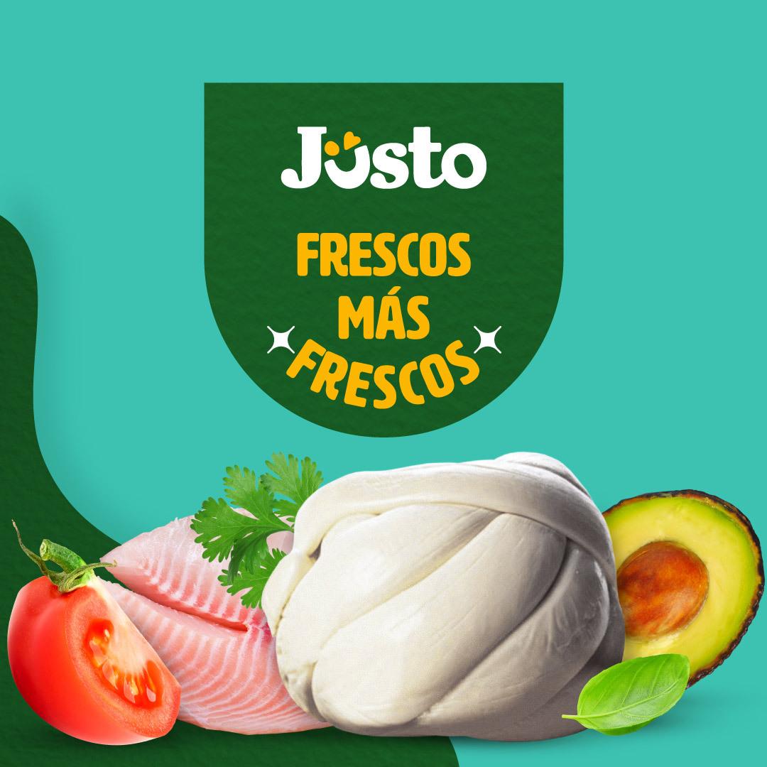JUSTO.MX (Primer pedido) paquete de fruta gratis +50% de descuento (Max $250)