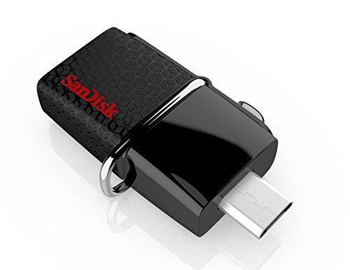 Amazon: Memoria Sandisk OTG Ultra Dual Drive USB 3.0 de 16Gb a $146, de 32Gb a $201 y de 64 Gb a $310