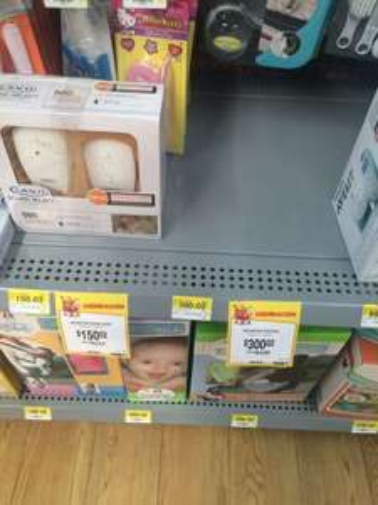 Walmart Puebla Cd. Judicial: monitor de bebé Graco a $150.02 y $300.02