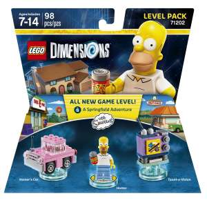 Best Buy en Línea: Lego Dimensions Level Pack Simpsons de $599 a solo $10