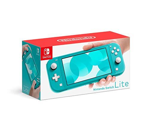 Amazon: Nintendo Switch Lite Turquesa- Edición Estándar - Standard Edition