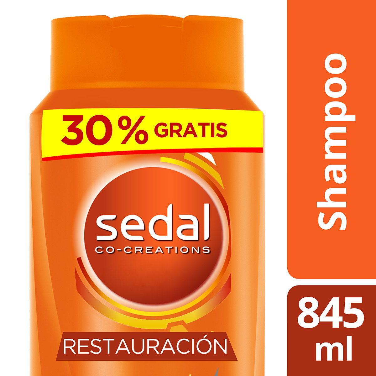 Chedraui: Shampoo Sedal Restauracion Instantanea 845 ml