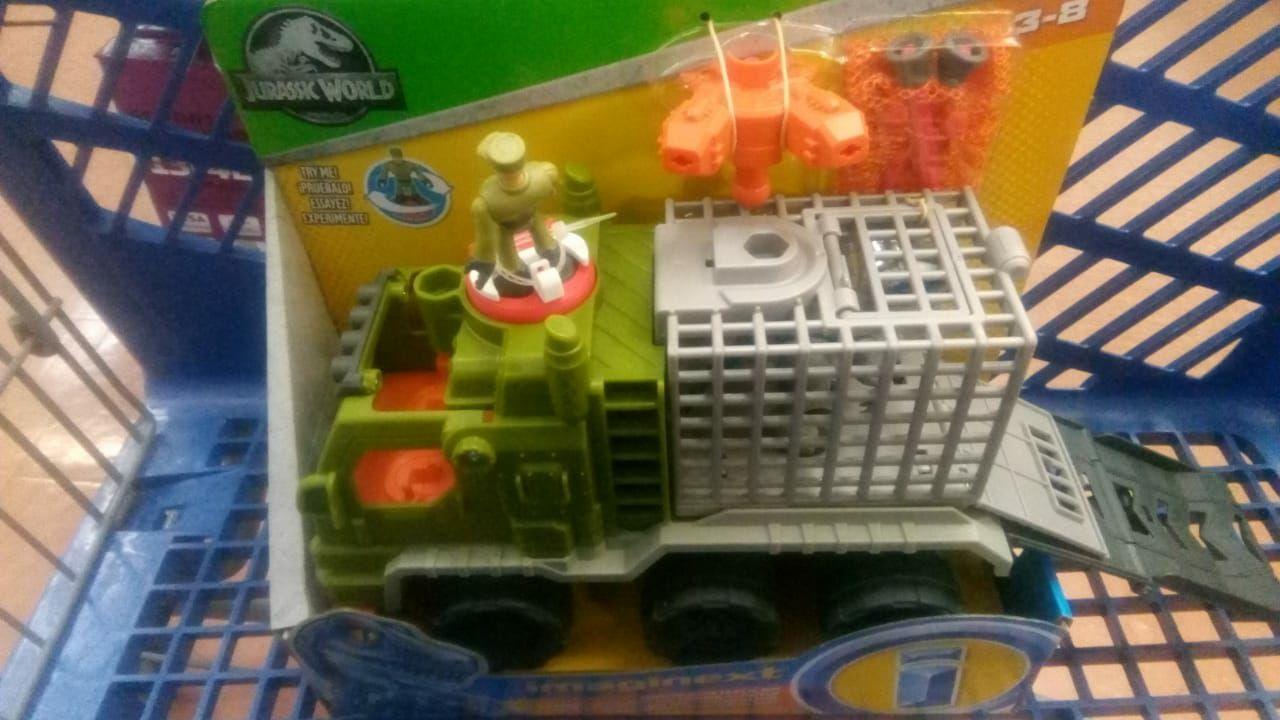 Walmart xalapa lazaro: Camion jurasic park