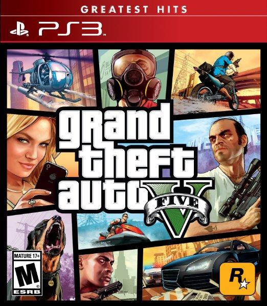 Amazon: Grand Theft Auto V para PS3 a $365