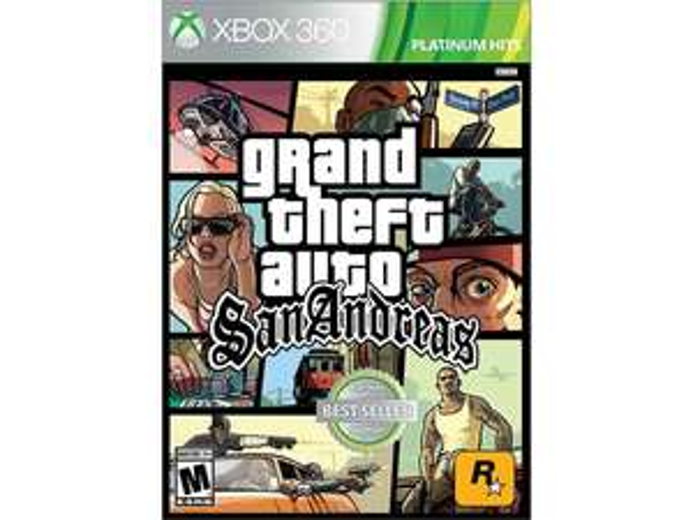 Liverpool en línea: Grand Theft Auto San Andreas para Xbox 360