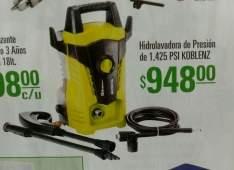 Oferta de Julio Regalado en Mega Comercial Mexicana: Hidrolavadora Koblenz HL-160 V a $948