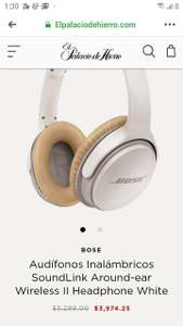 Palacio de hierro Audífonos Inalámbricos SoundLink Around-ear Wireless II Headphone White