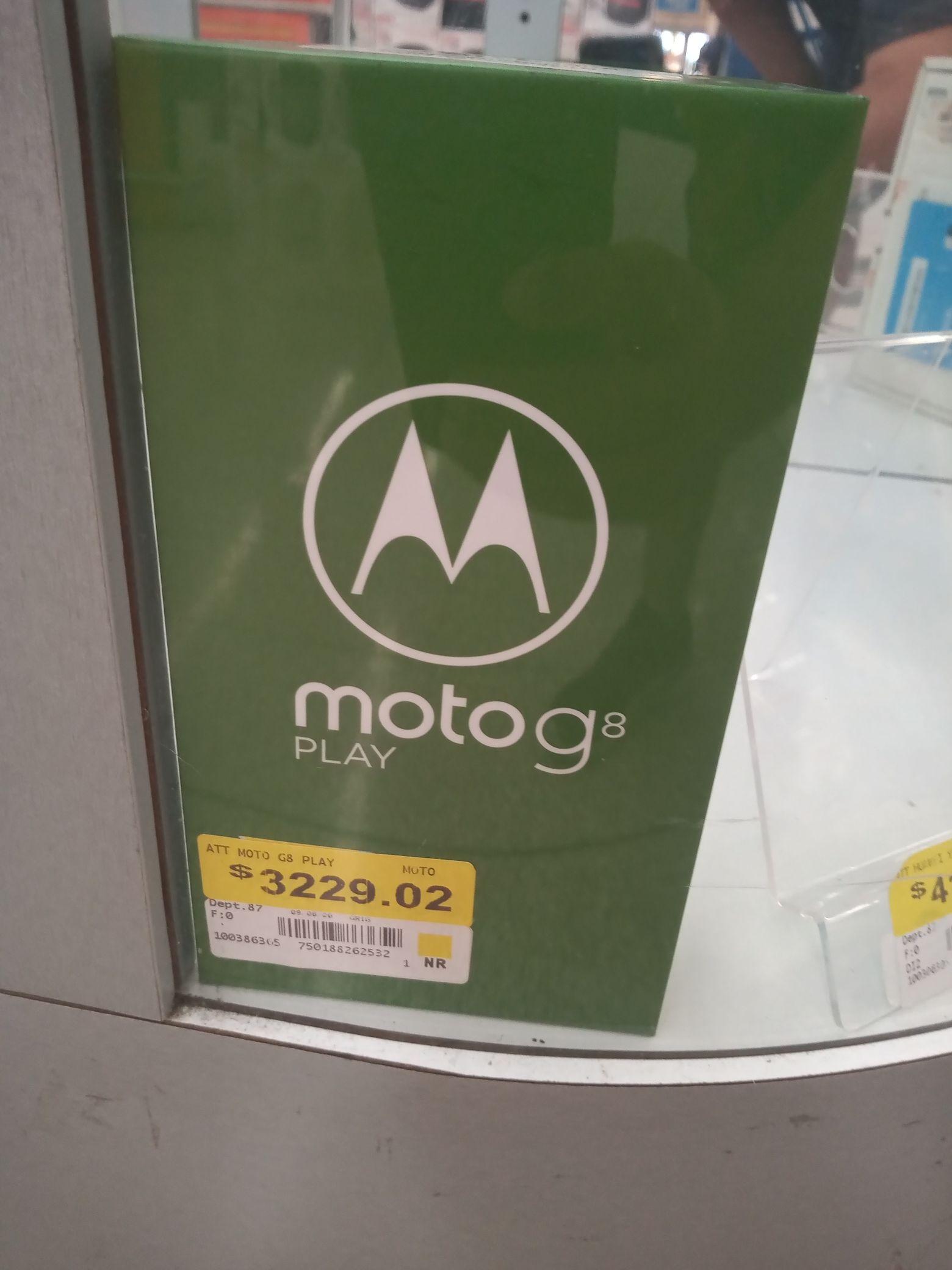 Motorola G8 play Walmart Colima