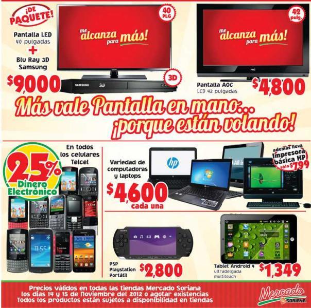 Venta Nocturna Mercado Soriana hoy: lavadora $1,900, microondas $700 y +