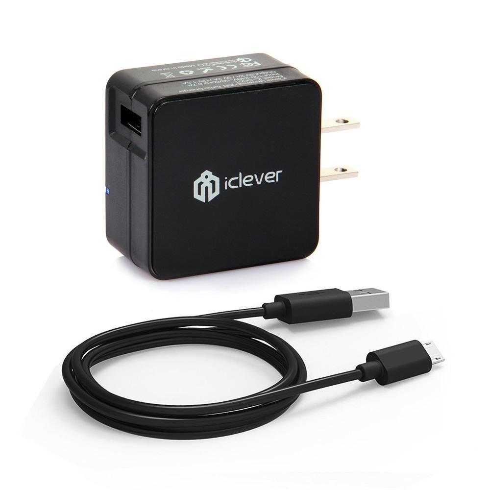 Amazon USA: Cargador Quick Charge 2.0 marca iClever a $9 dolares