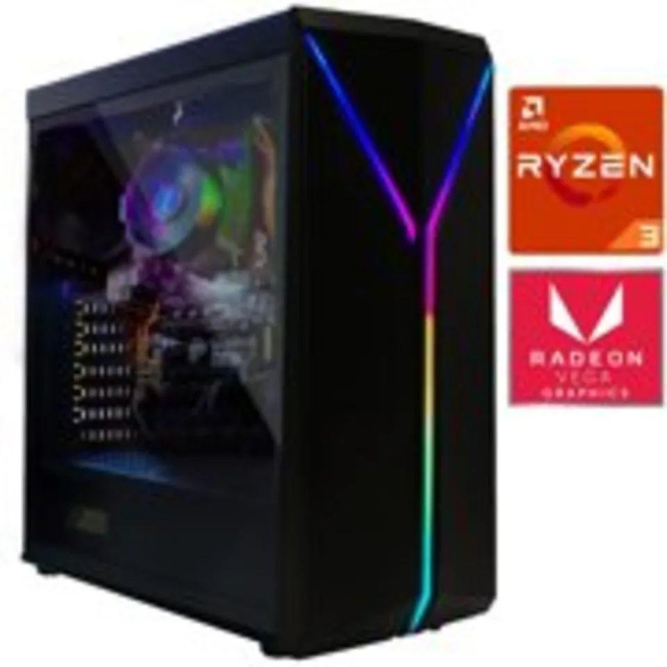 Bodega Aurrera: Computadora PC Gamer XTREME PC GAMING AMD RYZEN 3 3200G 8Gb 500Gb Radeon Vega 8
