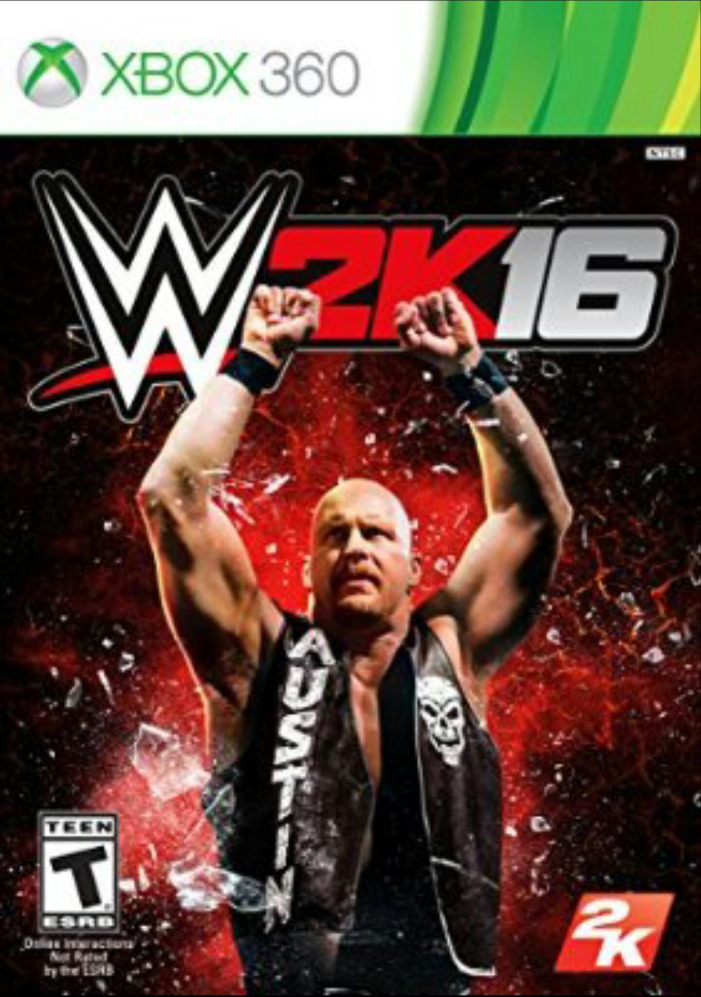 Amazon: WWE 2K 16 para Xbox 360 a $373 enviado por Amazon USA