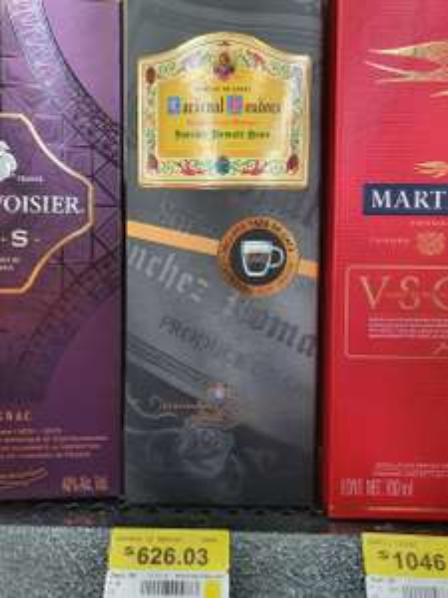 Walmart: Brandy Cardenal Mendoza gran reserva 700 ml