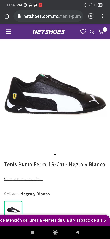 Netshoes: Tenis puma Ferrari