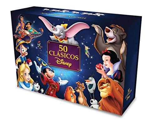 Amazon: Paquete 50 Clásicos Disney. Edición de Colección DVD