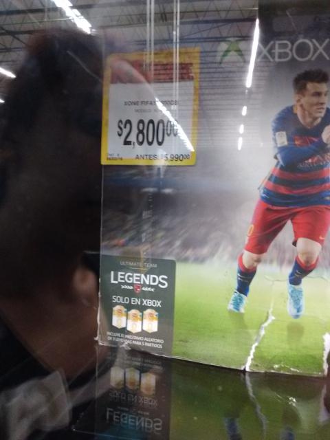 Bodega Aurrerá: consola Xbox One 500gb Fifa 16 a $2,800