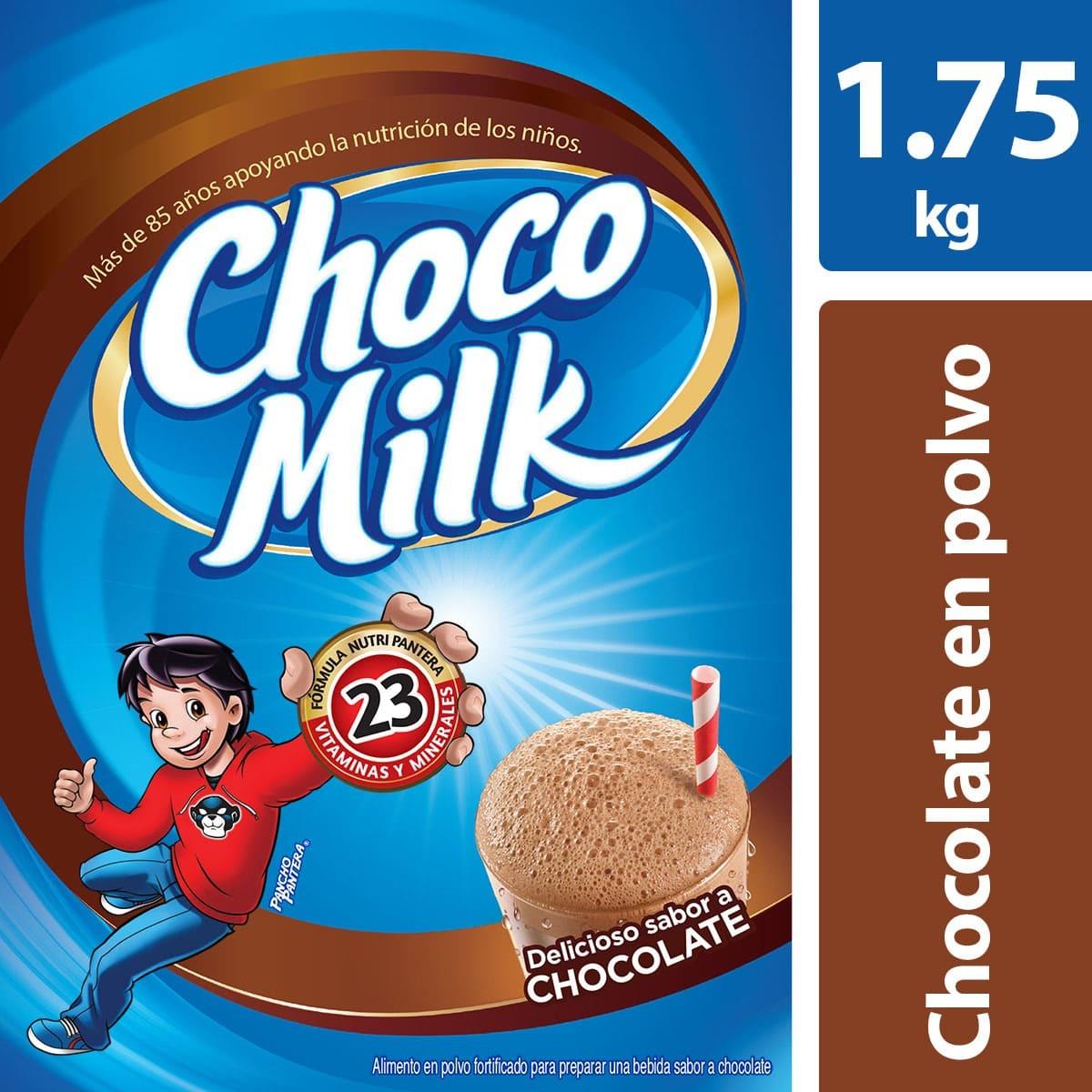 Choco Milk y Cal-c-tose de 1.75Kg. en $99 en Chedraui
