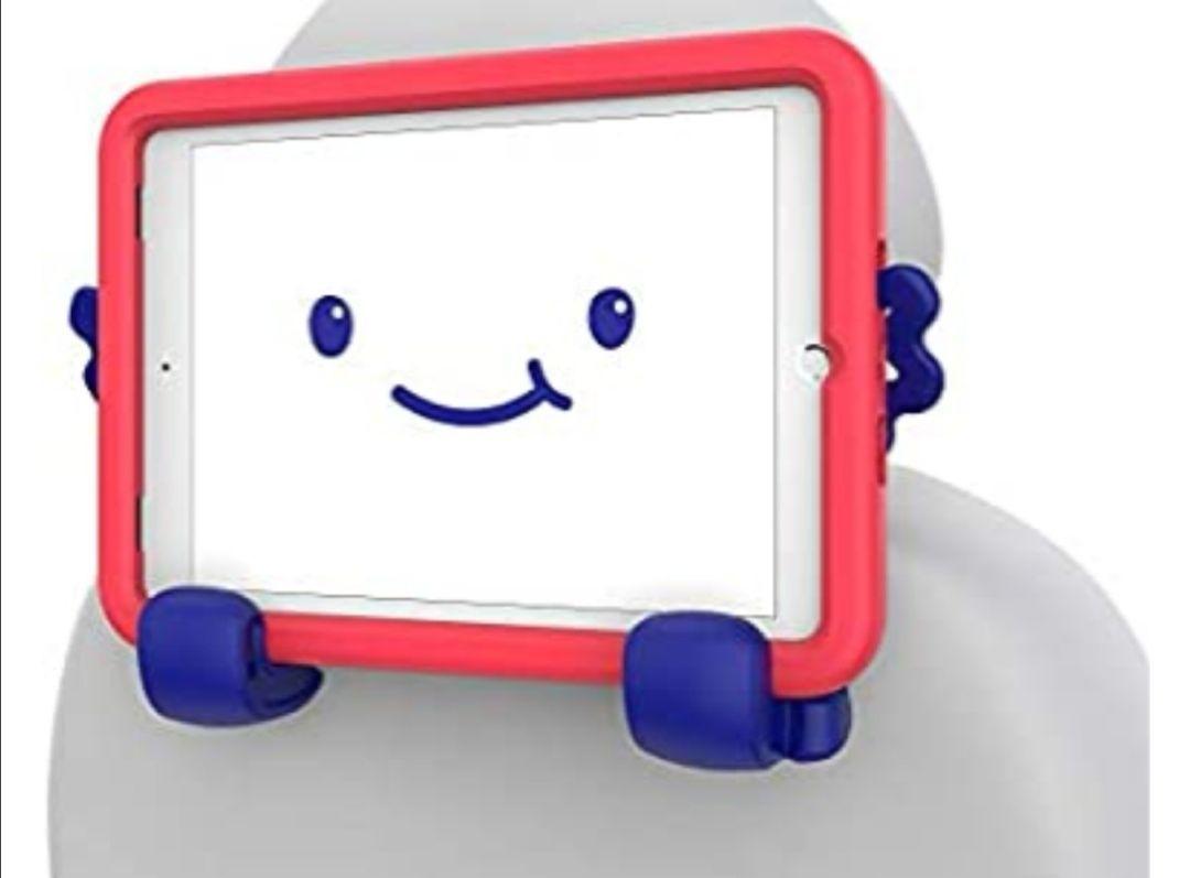 Amazon: Speck Products Case-E, Funda para iPad 9.7 Pulgadas, iPad Pro, iPad Air 2/iPad Air 1, Funda para niños, Sandia Rojo/Azul Brillante