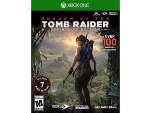 Liverpool: Shadow of the Tomb Raider Definitive Edition Xbox One