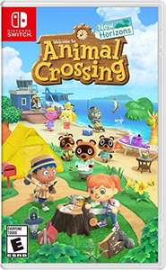 Amazon: Animal Crossing para zwitch